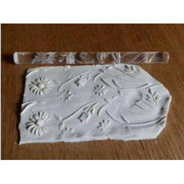 Rodillo texturizador 16 cm Flor Girasol Mixto