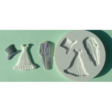 Molde silicona Wedding Alphabet Mould