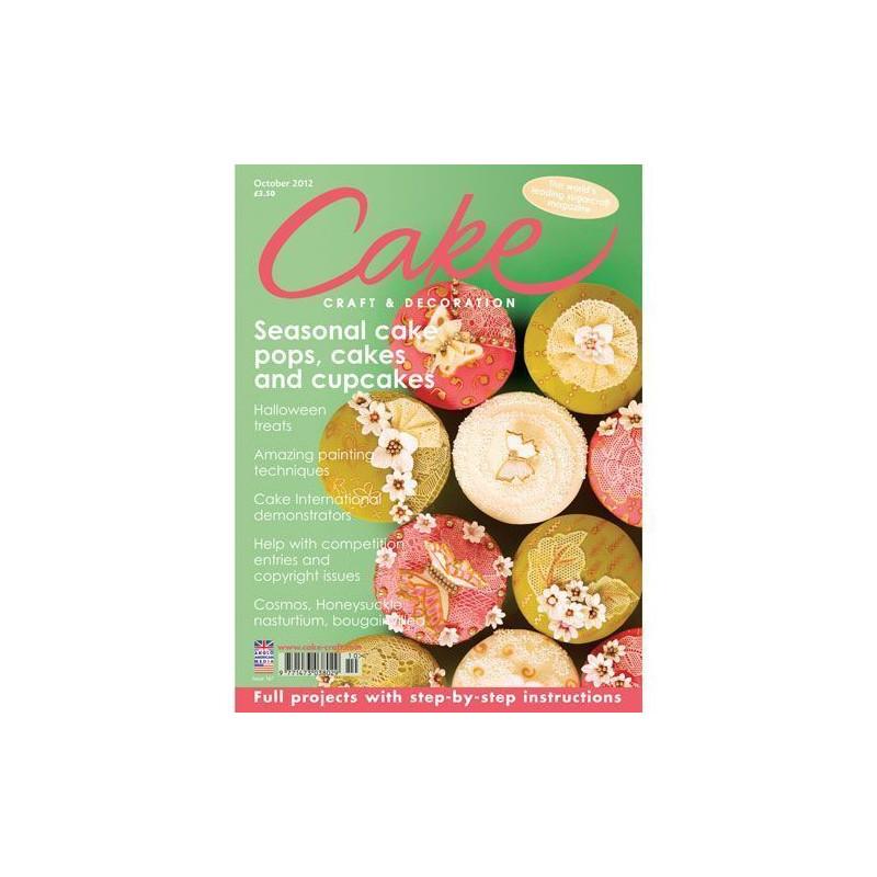 Revista Cake Craft & Decoration Edición Octubre 2012