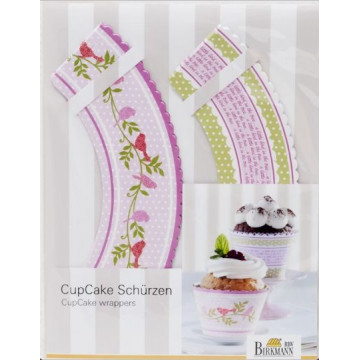 Set 12 cintas para decorar Cupcakes Birkmann