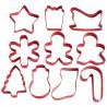 Cortante pack 10 cortantes Varios Navidad Wilton