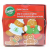 Cortantes, pack 4 cortantes Familia Gingerbread Wilton