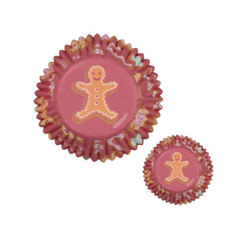 Capsulas mini cupcakes Gingerbread Wilton