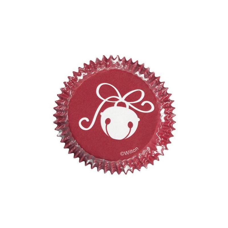 Capsulas cupcakes Campanilla de Navidad Wilton