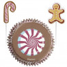 Set para cupcakes: Gingerbready Peppermint Wilton