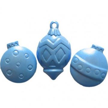 Molde silicona Ornamentos de Navidad FI
