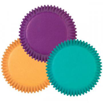 Cápsulas cupcakes colores vivos Wilton