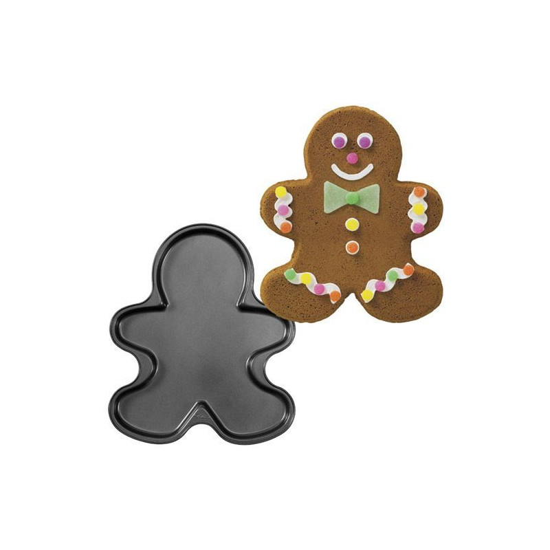 Molde plancha bizcocho Gingerbread Wilton