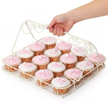Bandeja Transportadora Cupcakes Decorada Sweet Does It
