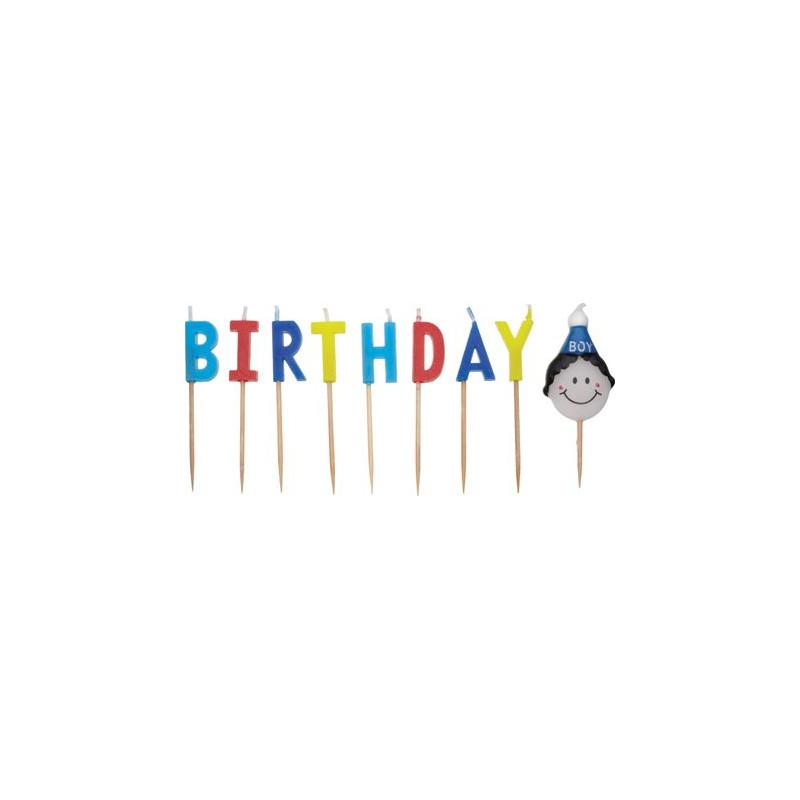 Velas cumpleaños Niño KC