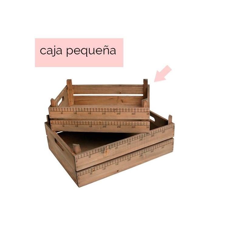 Caja de madera con medidas Mediana
