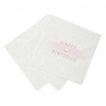 Servilleta de papel Feliz Cumpleaños Azul [CLONE]