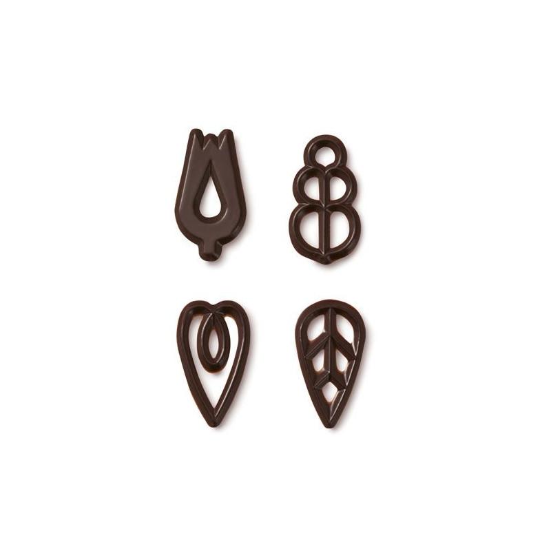 Decoraciones de Chocolate Callebaut