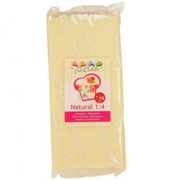 Mazapan Natural 1:4 1kg  Funcakes