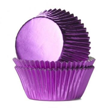 Cápsulas cupcakes Rosas Metalizadas House of Marie
