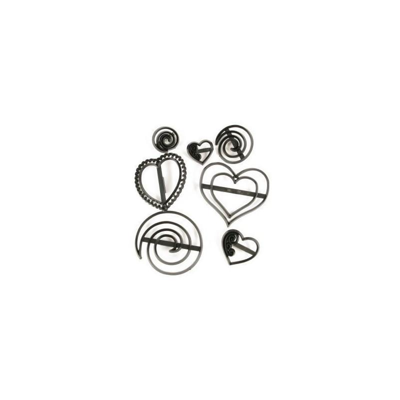 Patchwork Corazones y Espirales
