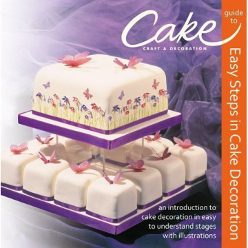 Libro en Inglés. Easy Steps in Cake Decoration.