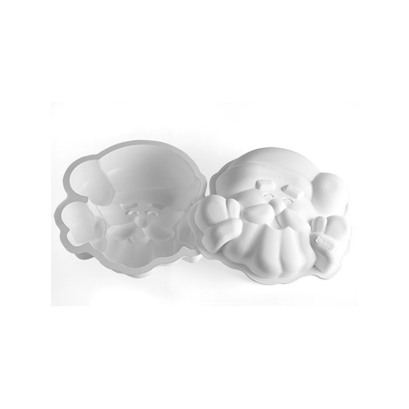 Molde silicona forma Cara Santa Claus SLK