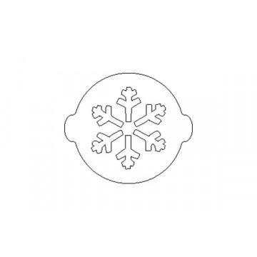 Stencil Copo de Nieve SLK