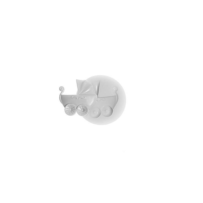 Molde silicona cochecito bebe SLK