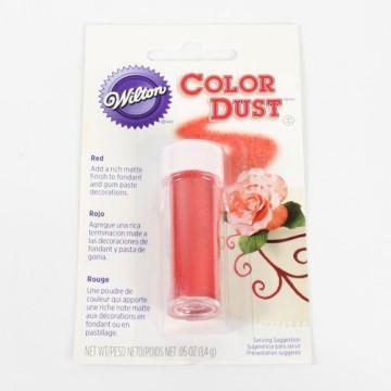 Colorante en polvo Rojo Wilton