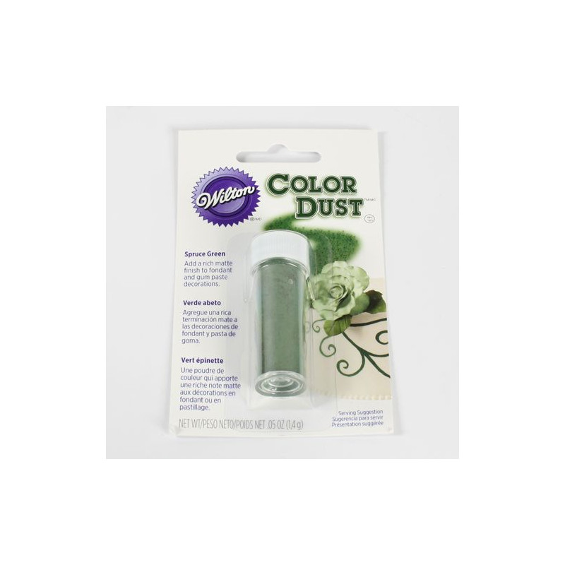 Colorante en polvo Verde Hoja Wilton