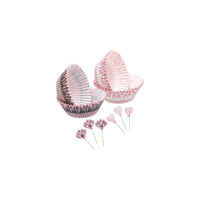 Set para cupcakes: Lace Sweet does it