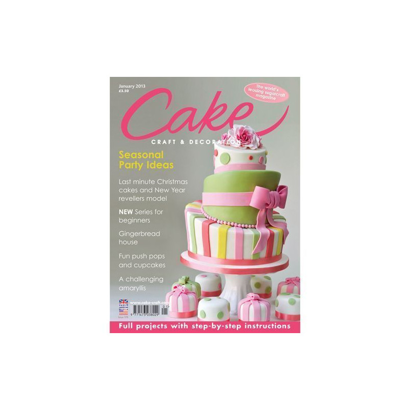 Revista Cake Craft & Decoration Edición Enero 2013