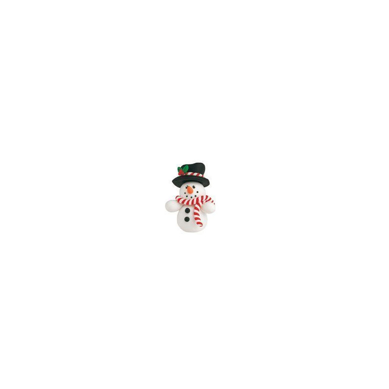 Topper de Muñeco de nieve.