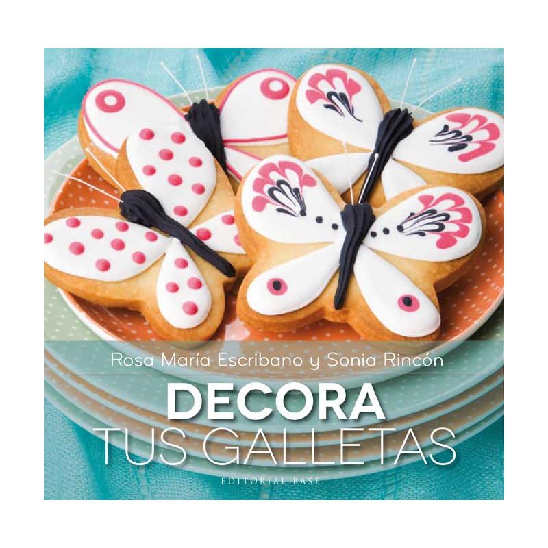 Libro Decora tus galletas por Rosa M Escribano y Sonia Rincón