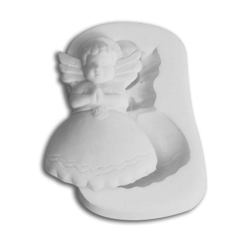 Molde silicona Angel Navidad  SLK