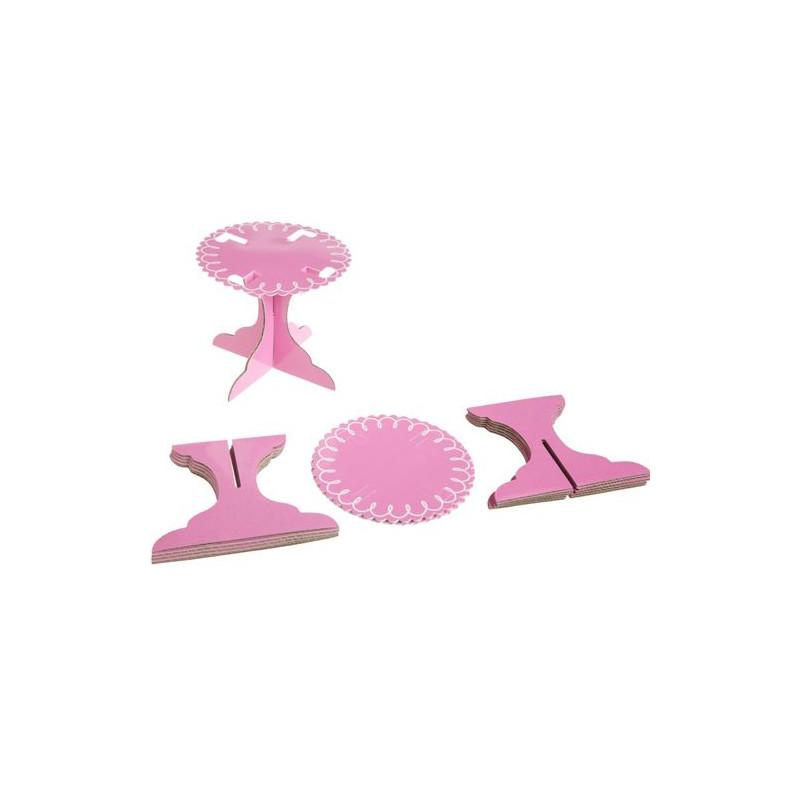 Stand de presentación cupcakes individual Rosa Wilton