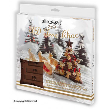 Molde de silicona Álbol TreeChoc SLK