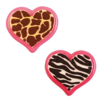 Molde para bombones Animal Heart Wilton