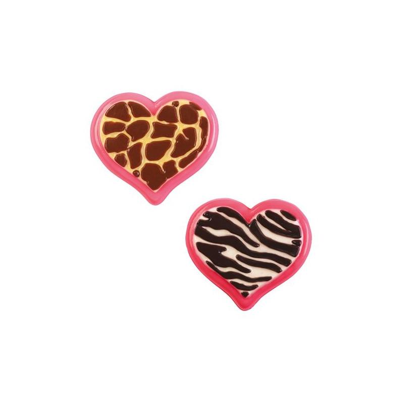 Molde para bombones Animal Heart Wilton