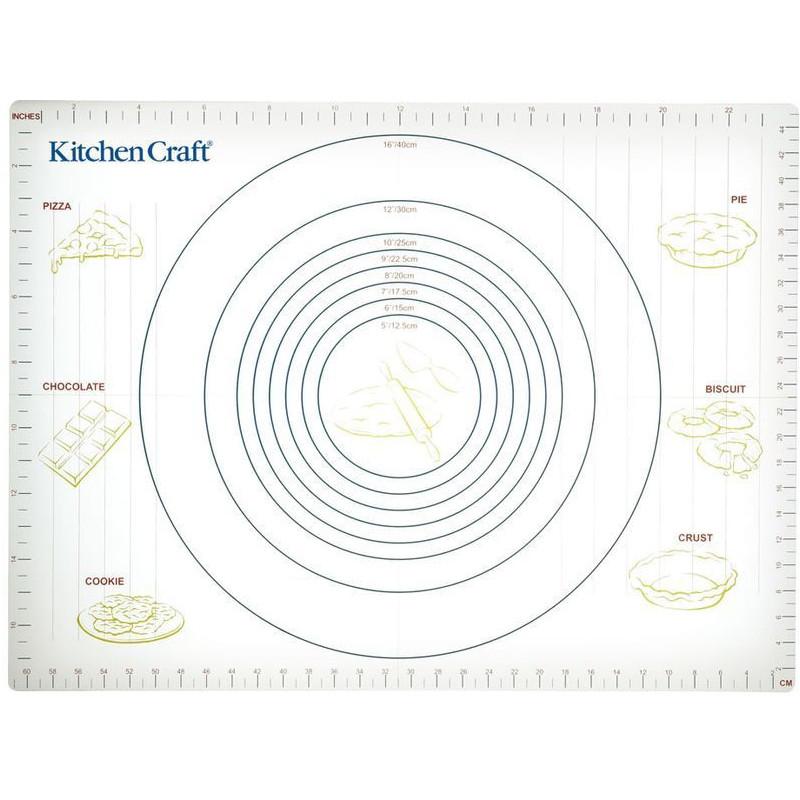 Plancha para estirar masas con medidas Kitchen Craft