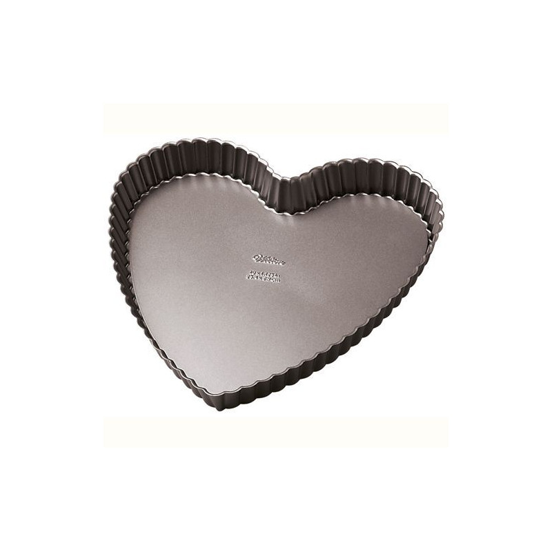 Molde corazón pie Excelent Elite Non Stick 25.4 cm Wilton