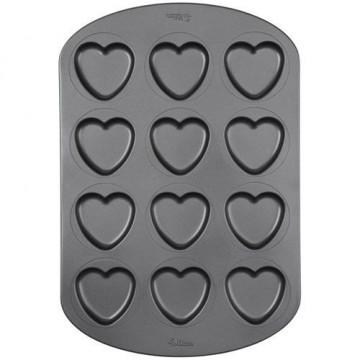 Molde Whoopie 12 cavidades Corazón Wilton