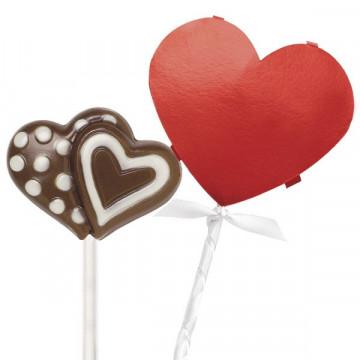 Kit decorativo para piruletas San Valentín Wilton