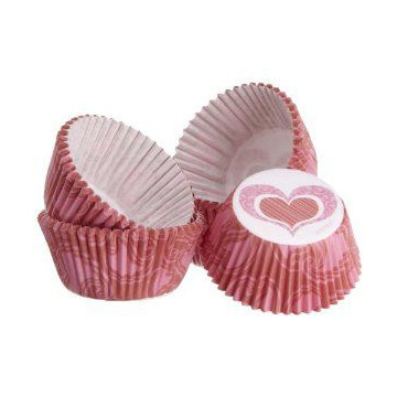 "Capsulas mini cupcakes ""You bake me smile"" Wilton"