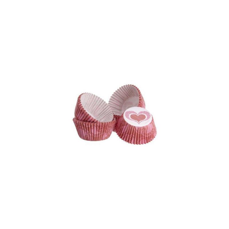 """Capsulas mini cupcakes """"You bake me smile"""" Wilton"""
