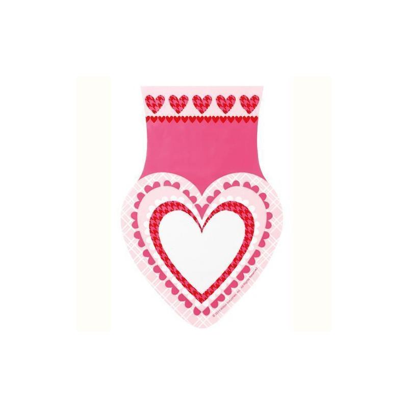Bolsas para galletas, piruletas pack 15 unidades Corazón Multi Color Wilton