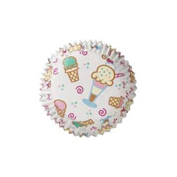 Cápsulas cupcakes Heladitos Wilton