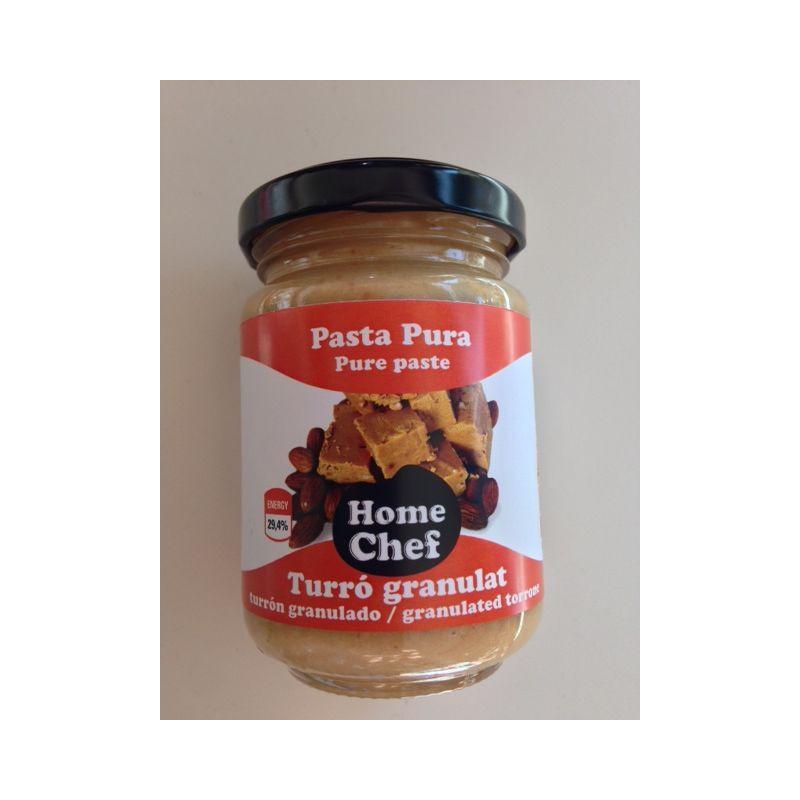 Turrón en pasta Home Chef - 160gr
