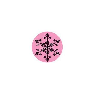 Sello Estampación Copo de Nieve