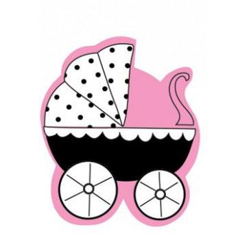 Sello Estampación Cochecito de Bebe