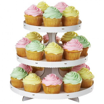 Stand de presentación cupcakes Básico Wilton