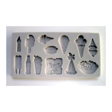Molde silicona Party Time Alphabet Mould