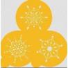 Stencils Jewelled Snowflake Mini Cupcakes/ Cookies