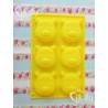 Molde 6 cavidades magdalenas silicona Winnie de pooh